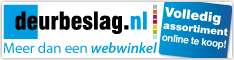Ga naar deurbeslag.nl, de webwinkel voor deurbeslag