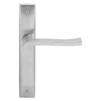 1070 Ola deurkruk op langschild WC57/ 5