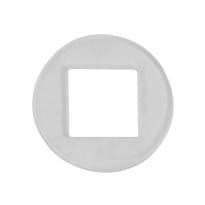 Krukring transparant 15,8 mm t.b.v. deurkrukken van GPF Bouwbeslag