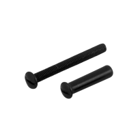 AG0365 smeedijzer zwart patentbout + huls