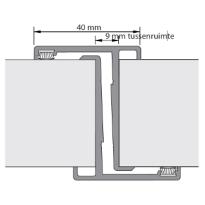 Alprokon 4058 prefab enkelvoudige deurnaald 2450 mm, voor 1 deur