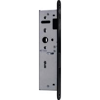 Austria D+N slot BB zwart smal met magneet t.b.v. Nero Legno opdek deur