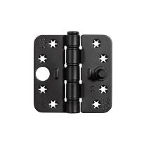 AXA Smart Easyfix veiligheidsscharnier ronde hoek 89 x 89 mm zwart