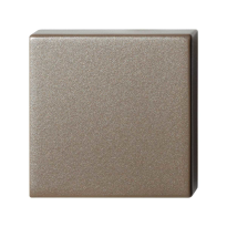 Blinde rozet GPF1102.A3.0900 50x50x8 mm Mocca blend
