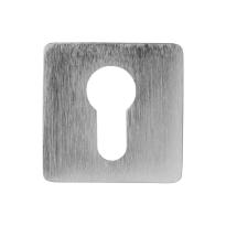 Cilinderrozet 6031/BY 50x50x6mm mat chroom