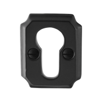 Cilinderrozet GPF6902.02 51x40x6mm smeedijzer zwart