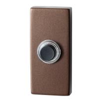 Deurbel GPF9826.A2.1101 bronze blend rechthoekig 70x32x10 mm