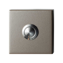 Deurbel GPF9827.A3.1102 Mocca blend vierkant 50x50x8 mm