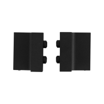 Deurstopper schuifdeursysteem GPF0580.61 zwart