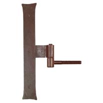 Duimheng met roest 40x300 mm