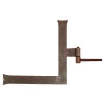 Duimheng met roest links 40x300x300 mm