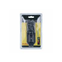 Federal 1056-BK overvalslot zwart 124x45mm