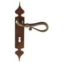 FM015 M deurkruk op schild geveerd