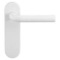 GPF8202.50 Aka deurkruk op kortschild wit