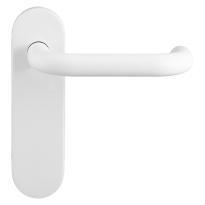 GPF8207.50 Hoa deurkruk op kortschild wit