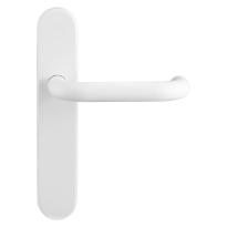 GPF8207.60 Hoa deurkruk op langschild wit
