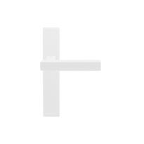 GPF8224.65 Toro+ deurkruk op langschild wit