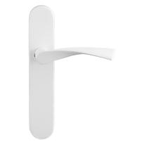 GPF8227.60 Kino deurkruk op langschild wit