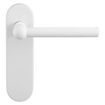 GPF8247.50 Hipi deurkruk op kortschild wit
