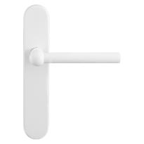 GPF8247.60 Hipi deurkruk op langschild wit