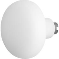 GPF8849.62 Paddenstoel knop veiligheidsschilden vast 65mm wit