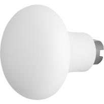 GPF8851.62 Paddenstoel knop veiligheidsschilden vast 52mm wit