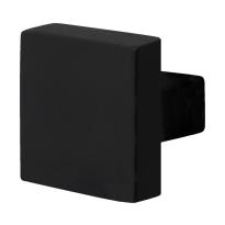 GPF8858.61 voordeurknop ten behoeve van veiligheidsschilden vast zwart