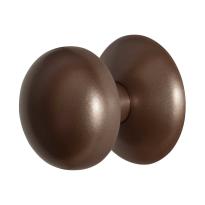 GPF9829.A2 Paddenstoel voordeurknop Bronze blend 65 mm