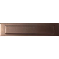 GPF9830.A2 briefplaat Bronze blend 340x77 mm