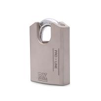 Hangslot DX 52 mm verschillend sluitend, zilver