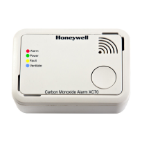 Honeywell koolmonoxidemelder XC-70