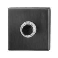 Huisbel GPF9826.02P1 vierkant 50x50x8 mm PVD antraciet