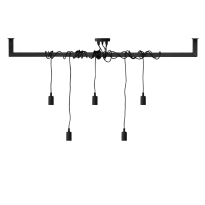 Industriële stalen lamp Mare frame + lamp