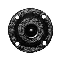 Klassieke deurbel KP0751 rond 58 mm smeedijzer zwart