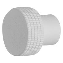 Knop standaard t.b.v. Mauer knopcilinder wit structuur