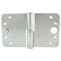 Veiligheids paumelle ronde hoek kantelaaf Ivana veiligheidsuitvoering DIN rechts 89 x 150 mm