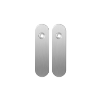 Kortschild GPF1100.10 RVS geborsteld