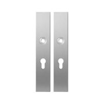 Langschild GPF1100.25 PC55 RVS geborsteld