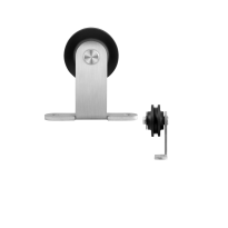 GPF0510.09 enkele schuifdeurhanger Osa RVS