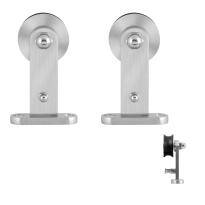 GPF0512.09 schuifdeurhanger set Kiva RVS t.b.v. extra deur
