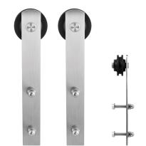 GPF0506.09 schuifdeurhanger set Sauva RVS t.b.v. extra deur