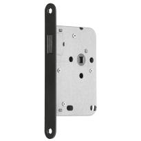 Mauer 1545 loopslot RVS met magneetschoot en zwarte voorplaat