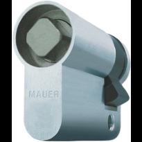 Mauer halve doorncilinder, 8 mm vierkantstift