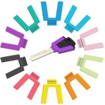 M&C Color Pro sleutel met kleuren cap