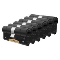 M&C Condor antikerntrek dubbele veiligheidscilinder gelijksluitend per 6, zwart