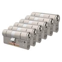 M&C Matrix antikerntrek dubbele veiligheidscilinder gelijksluitend per 6
