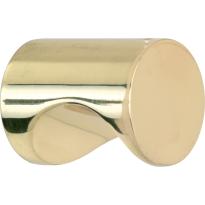 Mi Satori Meubelknop Cilinder 12mm gepolijst gelakt