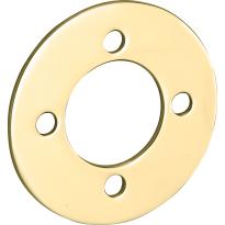Mi Satori Smetplaat tbv SKG cilinderrozet voor oplegslot messing gepolijst ongelakt