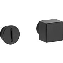 Mi Satori vrij / bezet stift Bauhaus-Style los messing mat zwart