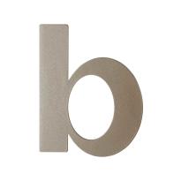 Mocca blend letter B plat, 110 mm